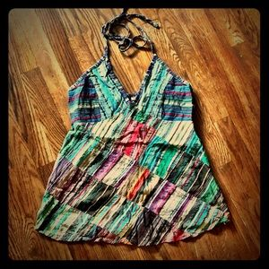 Women's quilted hauler top